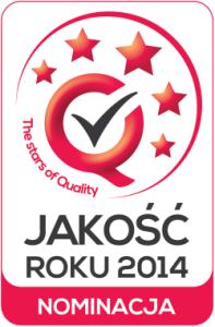 Logo jakość roku - nominacja (Custom)