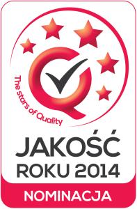 Jakość roku 2014 - nominacja