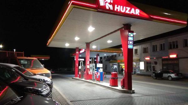 stacje HUZAR, Stacje HUZAR
