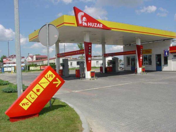 Stacja HUZAR - Pisz